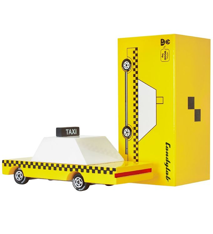 Image of Candylab Bil - Yellow Taxi - T308 (SC733)