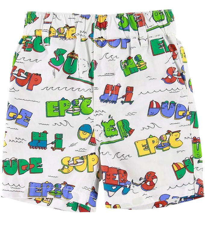 Image of Stella McCartney Kids Shorts - Super Dude (SC834)