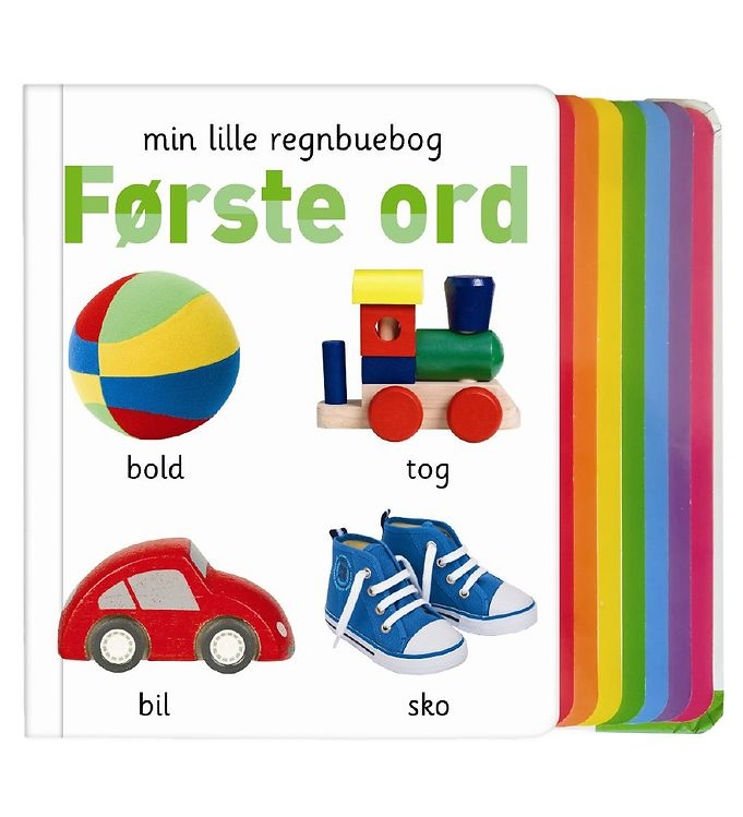 Image of Alvilda Bog - Min Lille Regnbuebog - Første Ord