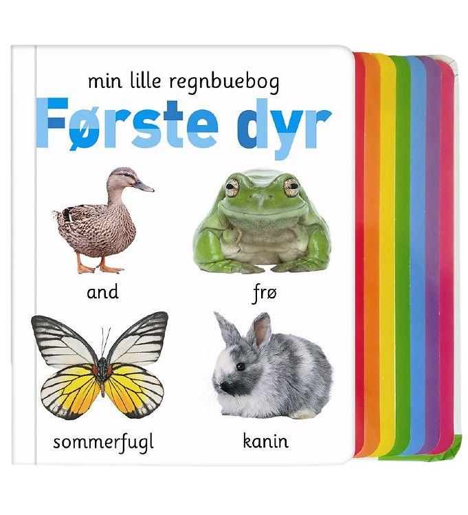 Image of Alvilda Bog - Min Lille Regnbuebog - Første Dyr