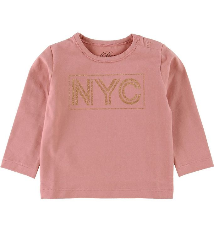 Image of Petit by Sofie Schnoor Bluse - NYC - Rosa m. Glimmer (SC922)