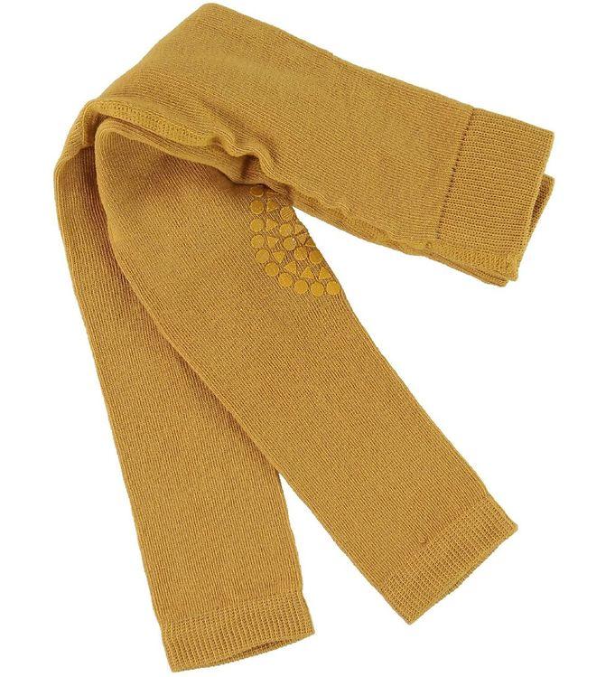 Image of   GoBabyGo Skridsikre Leggings - Mustard