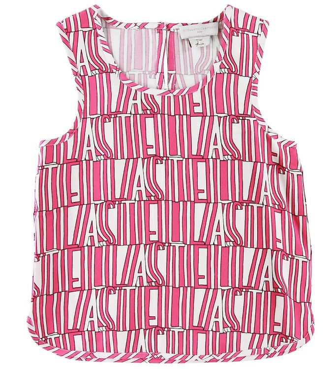 Image of Stella McCartney Kids Top - Hvid/Pink (SD077)