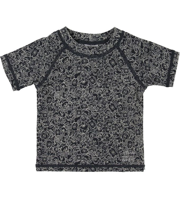 Image of Wheat Disney Badebluse - Mickey - UV50+ - Navy (SD273)
