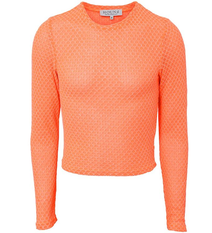 Image of Hound Bluse - Knit - Neon Orange (SD366)
