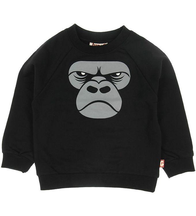 Image of DYR Sweatshirt - Bellow - Black Zoomgorilla (SD521)