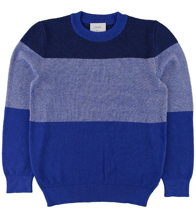 Image of Grunt Bluse - Strik - Per - Web Blue (SD557)