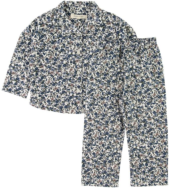 Image of Studio Feder Pyjamas - Floral Blue (SD777)