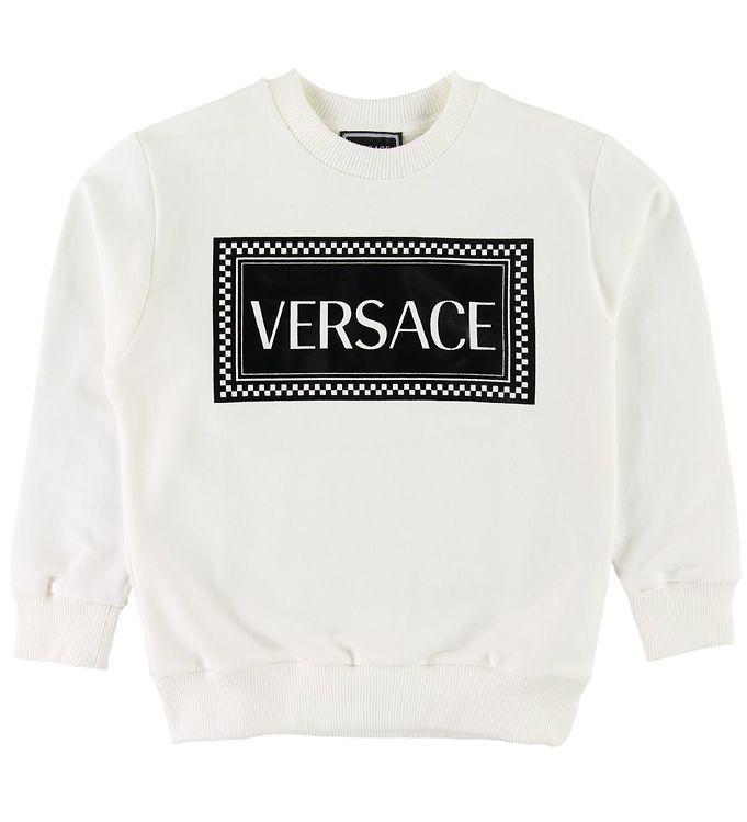Image of   Versace Sweatshirt - Hvid m. Logo