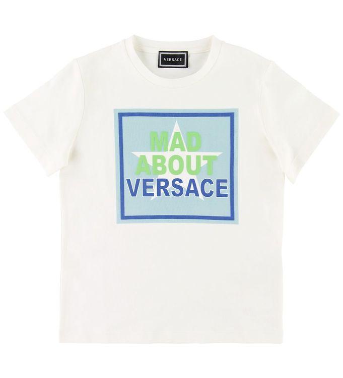 Image of Versace T-shirt - Hvid m. Print (SD863)