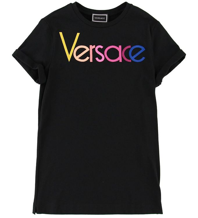Image of Versace Kjole - Sort m. Logo (SD869)