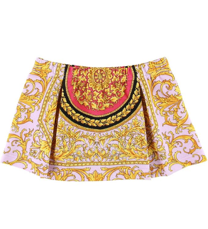 Image of Versace Nederdel - Sweat - Rosa/Gul (SD874)