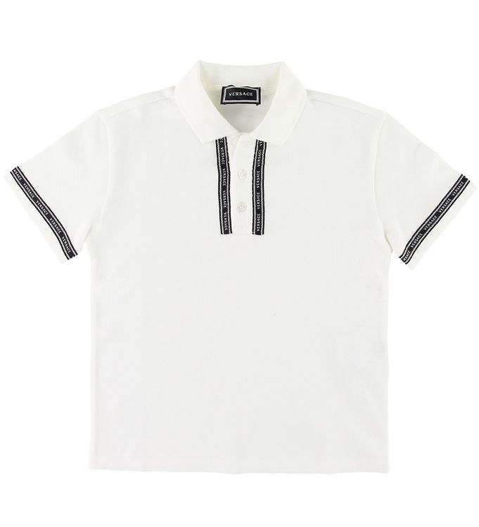 Image of   Versace Polo - Hvid