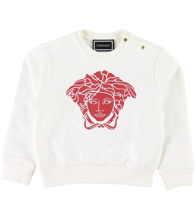 Image of Versace Sweatshirt - Hvid m. Medusa (SD885)