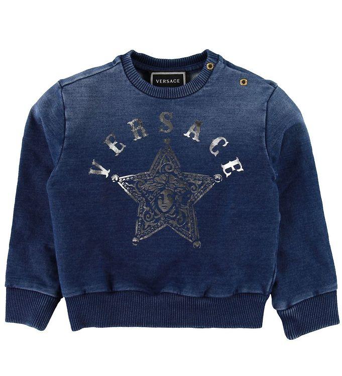 Image of Versace Sweatshirt - Mørkeblå (SD889)