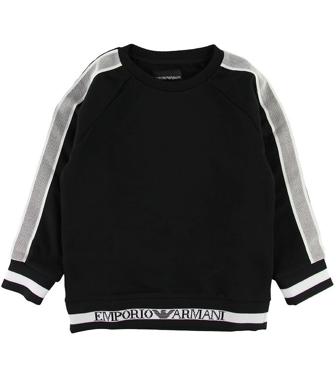 Image of Emporio Armani Sweatshirt - Sort (SE470)