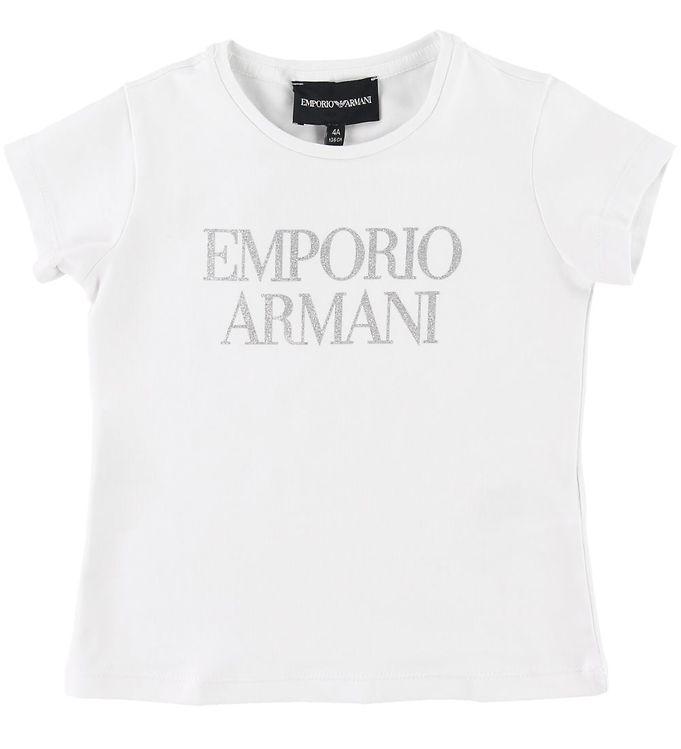 Image of Emporio Armani T-shirt - Hvid (SE487)