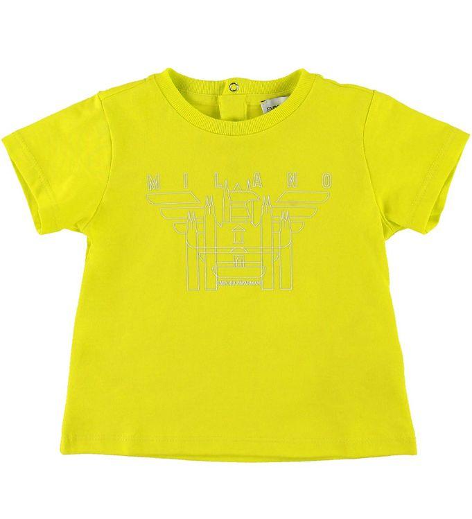 Image of Emporio Armani T-shirt - Gul (SE488)