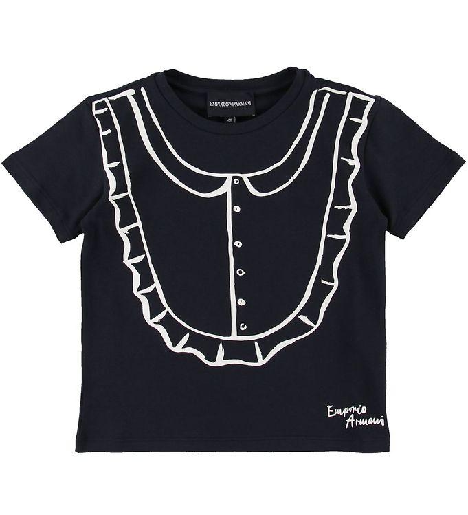 Image of Emporio Armani T-shirt - Navy (SE496)