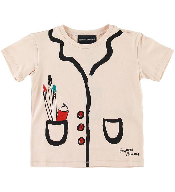 Image of Emporio Armani T-shirt - Pudder (SE498)