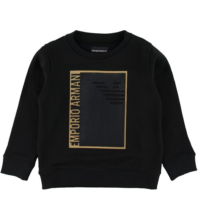 Image of Emporio Armani Sweatshirt - Sort (SE508)