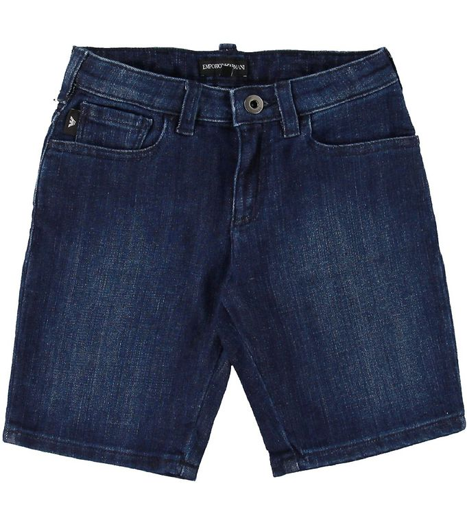 Image of Emporio Armani Shorts - Mørk Denim (SE512)