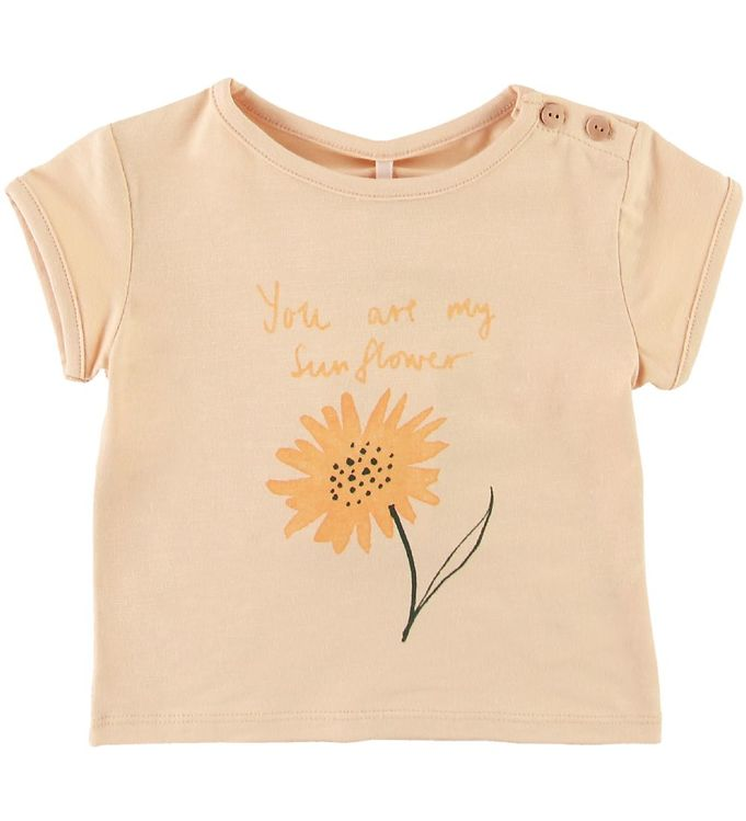 Image of Soft Gallery T-shirt - Nelly - Sunny - Winter Wheat (SE777)