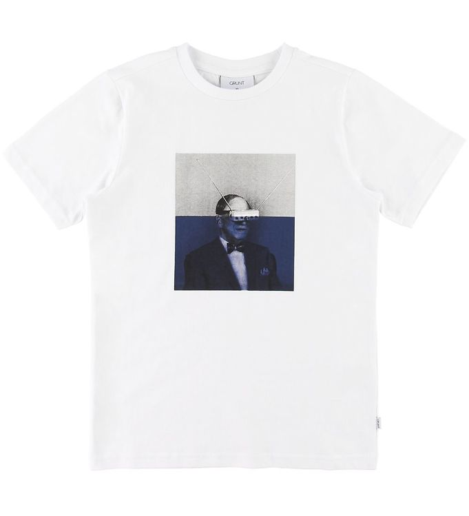 Image of Grunt T-Shirt - Loki - Hvid (SF118)