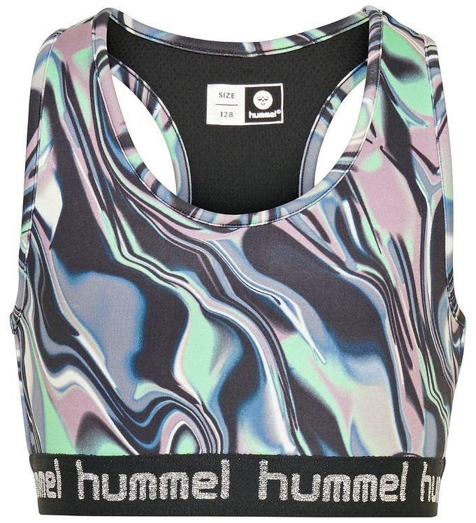 Hummel Træningstop - HMLMimmi - Multifarvet - 0% - 2,AA - Hummel,Hummel SS20,Hummel T-shirt,Hummel Udsalg,Pigetøj,T-shirts & Toppe - Hummel