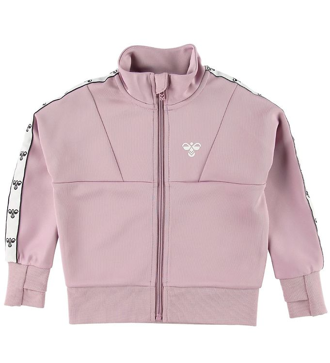 Image of Hummel Cardigan - HMLLilly - Mauve Shadow m. Logo (SG174)