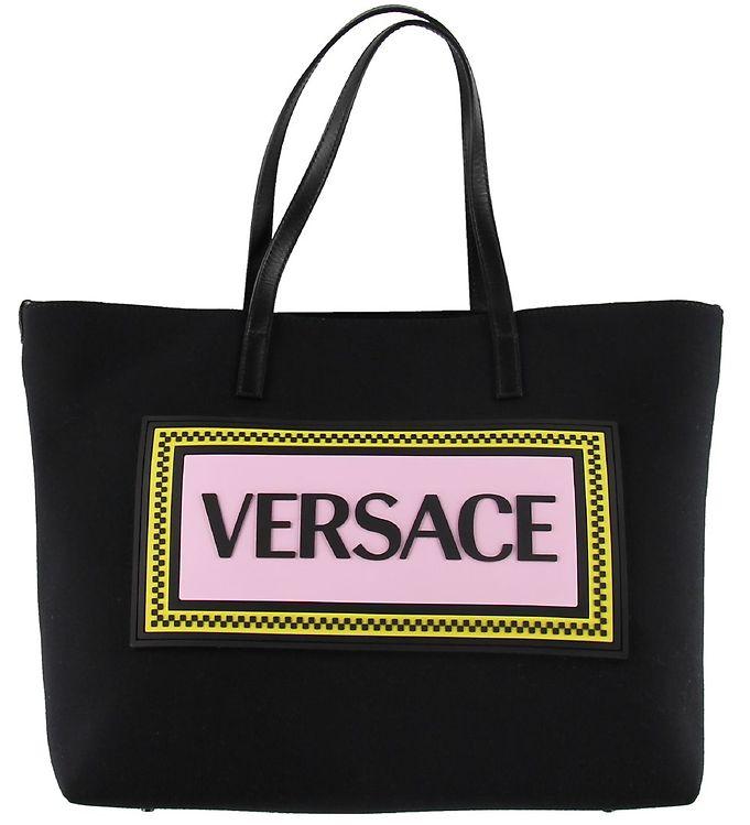Image of Versace Pusletaske - Sort m. Rosa (SG249)
