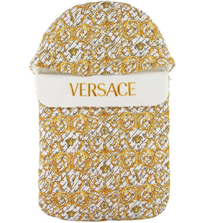 Image of   Versace Kørepose - Hvid m. Logo