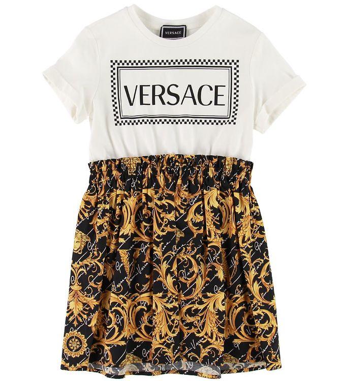 Image of   Versace Kjole - Sort/Hvid