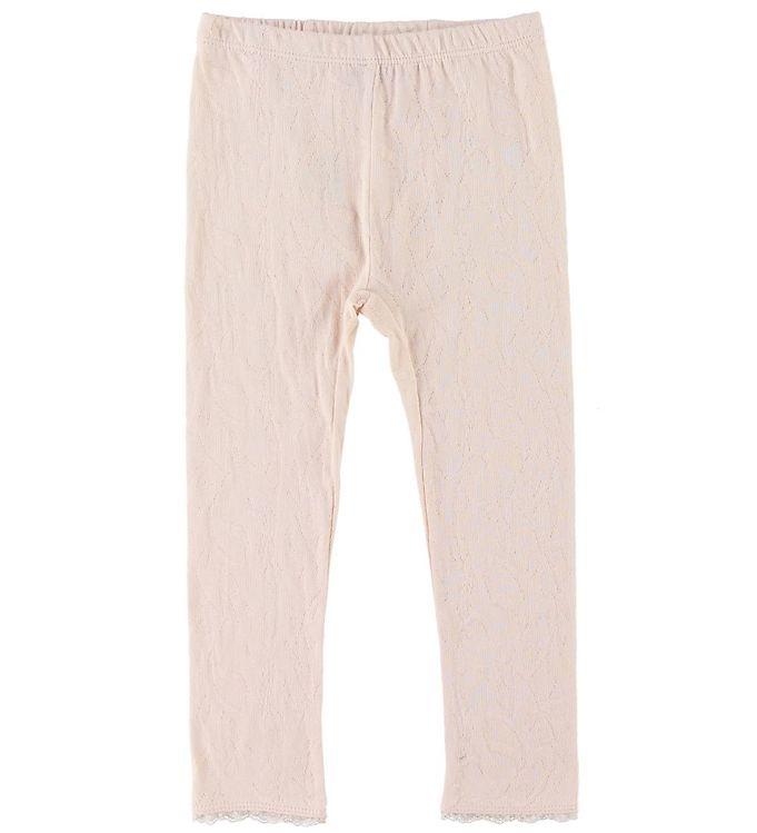 Image of En Fant Leggings - Pink Champagne m. Blonder (SG881)