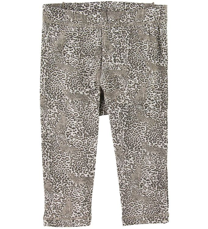 Image of Hust and Claire Leggings - Lucia - Bambus - Leopard (SH252)
