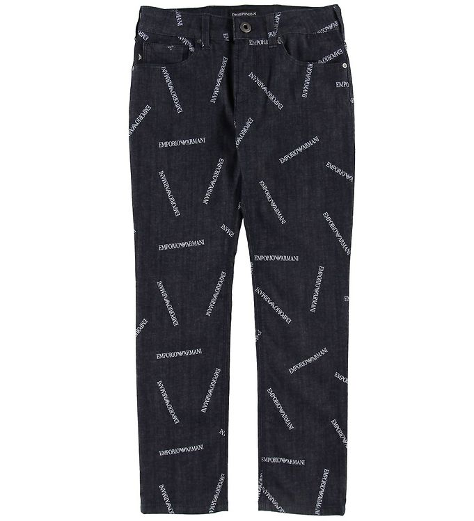 Image of Emporio Armani Jeans - Navy m. Allover Print (SH339)