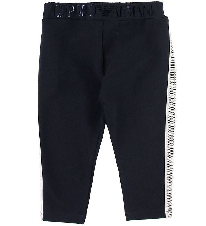Image of Emporio Armani Leggings - Navy/Hvid (SH341)