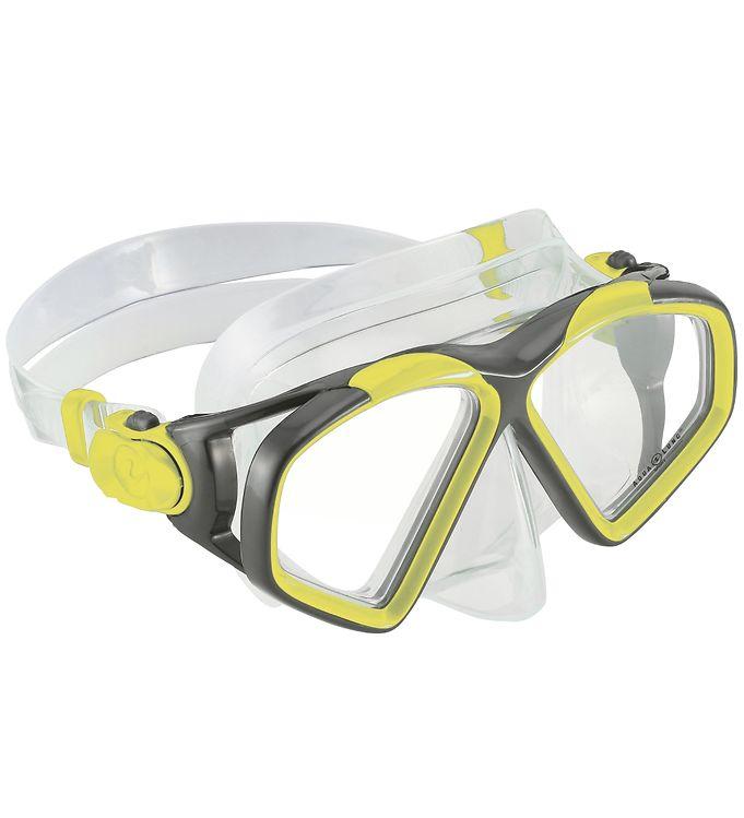 Image of Aqua Lung Dykkermaske - Hawkeye Adult - Gul/Sort (SH342)