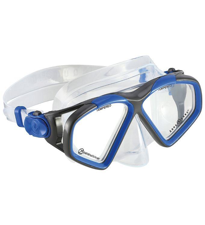 Image of Aqua Lung Dykkermaske - Hawkeye Adult - Blå/Koksgrå (SH344)