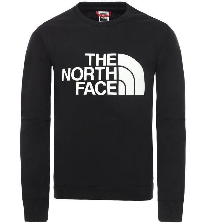 Image of The North Face Sweatshirt - Sort m. Logo (SH531)