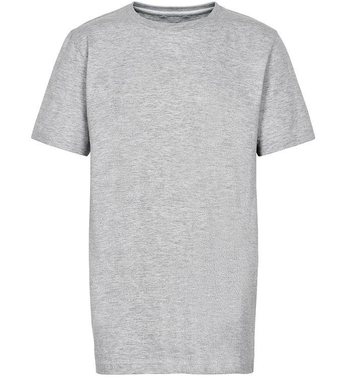 Image of Cost:Bart T-shirt - Chris - Gråmeleret (SH761)