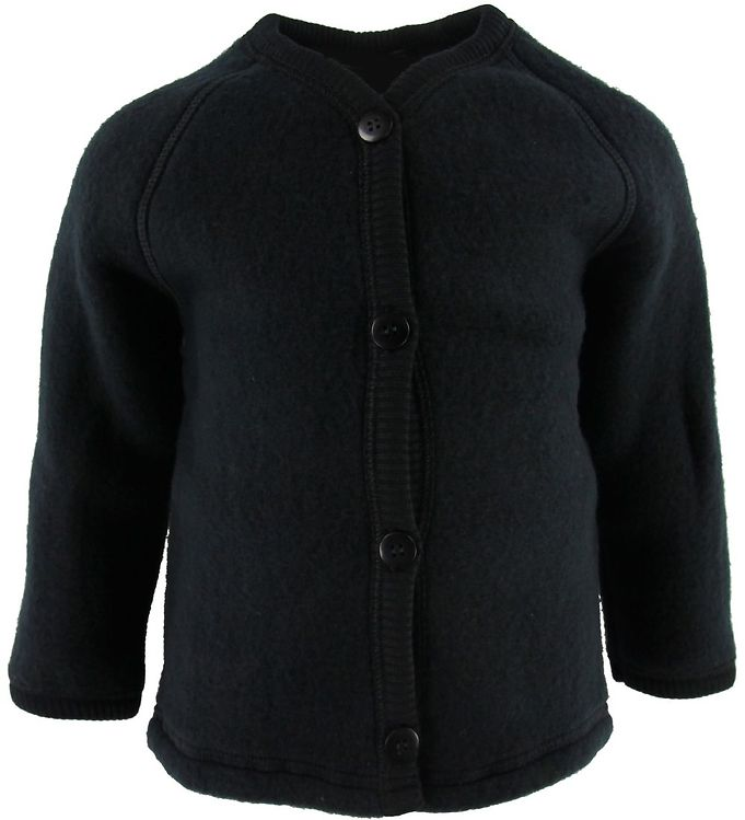 Image of Smallstuff Cardigan - Uld - Sort (SH916)