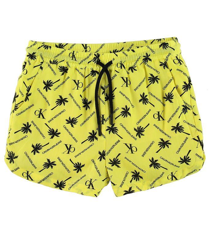 Image of Calvin Klein Shorts - Palm - Gul m. Palmer (SI261)