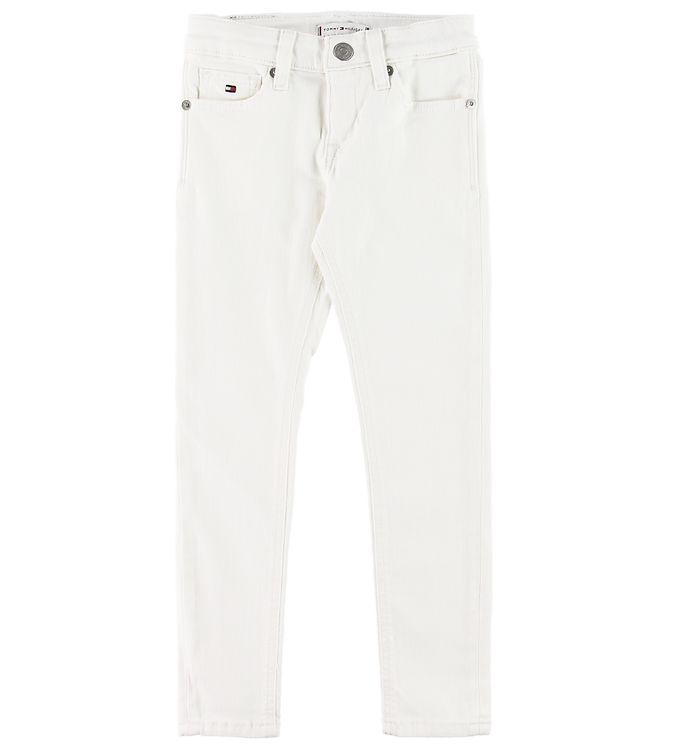 Image of Tommy Hilfiger Jeans - Nora Skinny - Hvid Denim (SI274)
