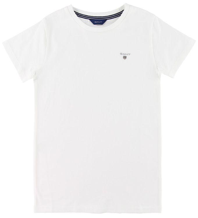 Image of GANT T-shirt - The Original - Hvid (SI611)
