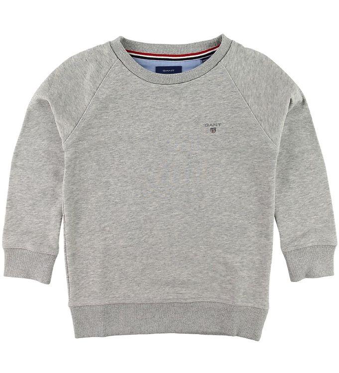 Image of GANT Sweatshirt - The Original - Gråmeleret (SI635)