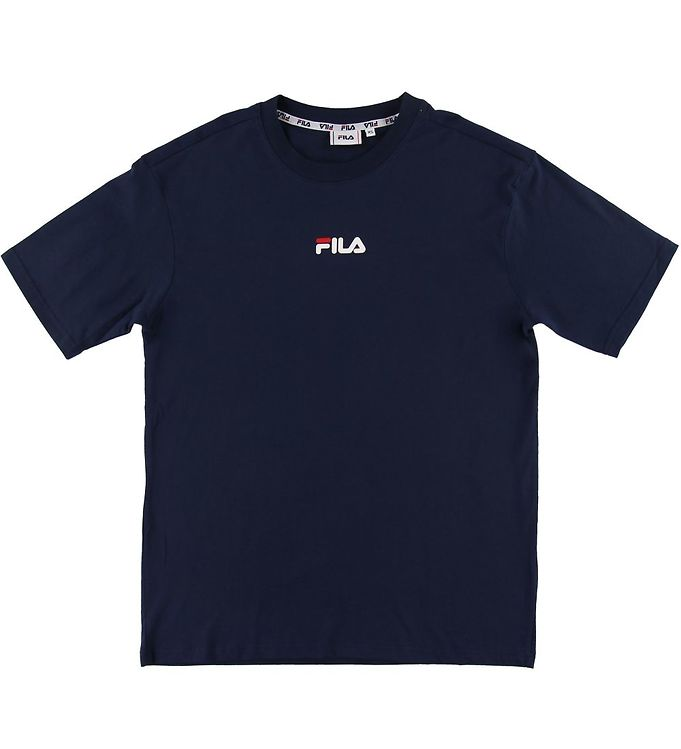 Image of Fila T-shirt - Bender - Navy (SI725)