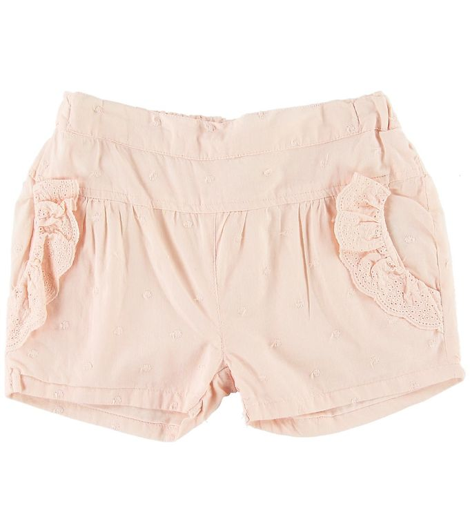 Image of En Fant Shorts - Rosa m. Blonde (SI891)