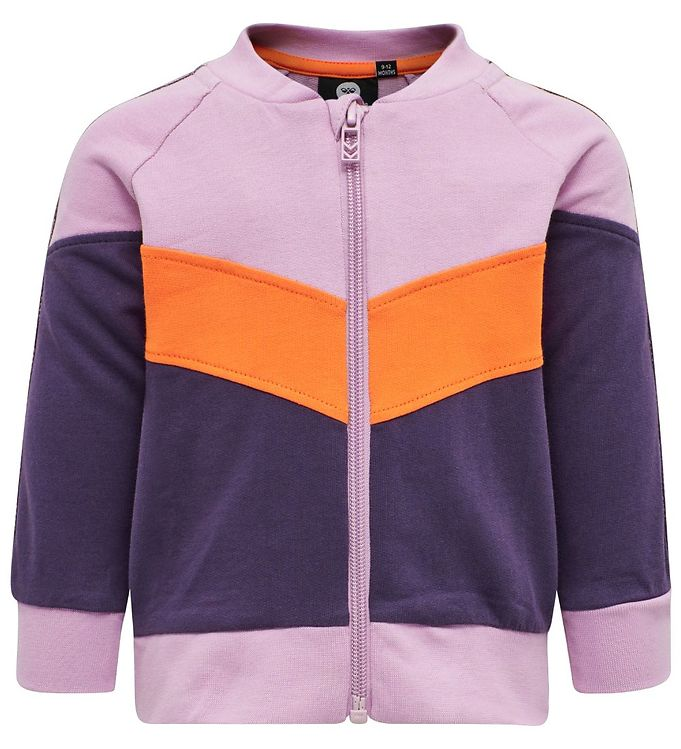 Image of Hummel Cardigan - HMLVeronica - Lilla/Orange (SJ264)