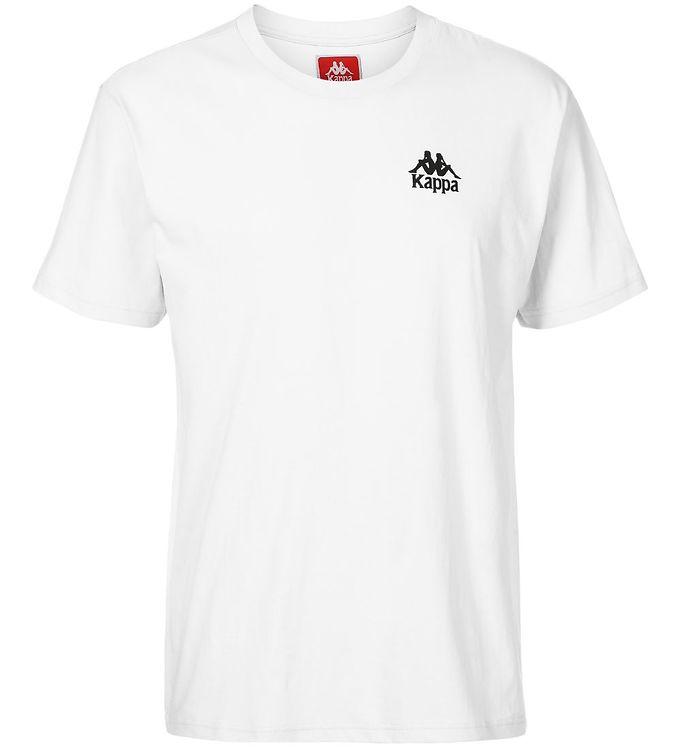 Image of Kappa T-shirt - Wollie - Hvid m. Logo (SJ406)